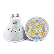 billige Spotlys med LED-YWXLIGHT® 7W 500-700lm GU10 GU5.3(MR16) E26 / E27 LED-spotpærer 72 LED perler SMD 2835 Dekorativ Varm hvit Kjølig hvit Naturlig hvit