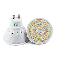 billige Spotlys med LED-YWXLIGHT® 7W 500-700 lm GU10 GU5.3(MR16) E26/E27 LED-spotpærer 72 leds SMD 2835 Dekorativ Varm hvit Kjølig hvit Naturlig hvit AC 110-220