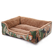 Cat Dog Bed Pet Mats & Pads Camouflage Soft Camouflage Color