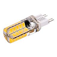 billige Bi-pin lamper med LED-3W G9 LED-lamper med G-sokkel T 40 leds SMD 5730 Dekorativ Varm hvit Kjølig hvit 200-300lm 2800-3200/6000-6500K AC110 AC220V