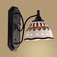 tanie Kinkiety Ścienne-Wiejski Modern / Contemporary Kraj Lampy ścienne Na Metal Światło ścienne 220V 110V 60W