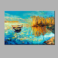 Hand-Painted Abstract Oil painting Ready To Hang Modern One Panels Canvas Oil Painting For Home Decoration