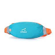 billige Rygsække og tasker-Bæltetasker for Løb Sportstaske Letvægt / Anti-tyveri / Telefon / Iphone Løbetaske Alle Mobil Nylon Himmelblå / Grøn / Lys pink