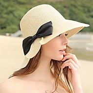 Žene Jednobojni Ležerne prilike Slamnati šešir