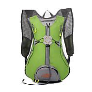 billige Rygsække og tasker-rygsæk for Fritidssport Cykling / Cykel Fitness Rejse Løb Jogging Sportstaske Vandtæt Regn-sikker Vandtæt Lynlås Påførelig