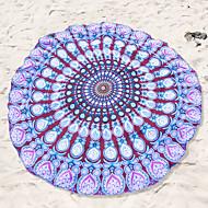 סגנון חדש מגבת חוף,הדפסה תגובתית איכות מעולה 100% פוליאסטר מַגֶבֶת