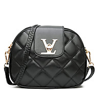 Women Bags Summer PU Shoulder Bag for Event/Party Casual Black