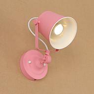 billige Vegglamper med LED-Land / Retro Rød LED Vegglampe Metall Vegglampe 110-120V / 220-240V 5W