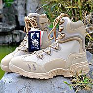 billige -60%-Herre-Lerret-Lav hæl-Komfort-Støvler-Friluft Sport Work & Safety-Svart Kakifarget
