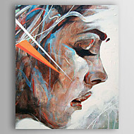 Hand-Painted  Decoration People  Back Oil Painting With Stretcher For Home Decoration Ready to Hang