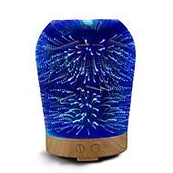 noul hhy 3d mini usb ceramice umidificator plin de culoare colorate lumina de noapte multi-sincronizare 100-240v