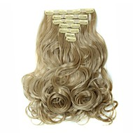 Clip-in synthetisch Haarextensions 160 Haarextensies