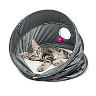 Χαμηλού Κόστους Γάτα Κρεβάτια & Αντικείμενα μεταφοράς-Γάτα Κρεβάτια Κατοικίδια Καλάθια Μονόχρωμο Αναπνέει / Πτυσσόμενο Γκρίζο Για κατοικίδια