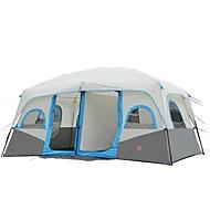 Shamocamel® >8 personer Telt Dobbelt camping telt To Værelser Familietelt Hold Varm Vandtæt Bærbar Regn-sikker Åndbart for Campering &