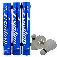 billiga Badminton-Äkta fjäderboll 12st Duck Feather Slitsäker / Hållbar Badminton