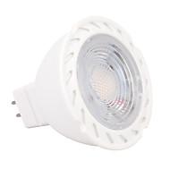 billige Spotlys med LED-5W 430-450lm GU5.3(MR16) LED-spotpærer MR16 6 LED perler SMD 2835 Mulighet for demping Varm hvit Kjølig hvit 12V
