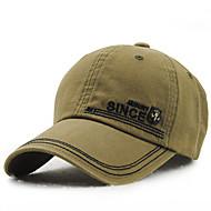 Pánské Vintage Na běžné nošení Léto Celý rok Kšiltovka Sluneční klobouk,Jednolitý Bavlna