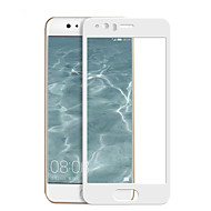 billiga Mobiltelefoner Skärmskydd-Skärmskydd Huawei för P10 Härdat Glas 1 st Heltäckande displayskydd Explosionssäker 2,5 D böjd kant 9 H-hårdhet Högupplöst (HD)