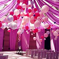 6pcs / set中国の紙ランタンの誕生日結婚式のパーティーの装飾ギフト工芸diy 6サイズ15cm 20cm 25cm 30cm 35cm 40cm