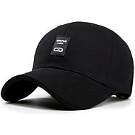 billige -Hat Visirer Herre Ultraviolet Resistent Åndbart for Træning & Fitness Fritidssport Løb Bogstav & Nummer Bomuld Sommer