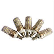 6W E14 LED-kornpærer T SMD 2835 750 lm Dual Light Source Color AC220 V 5 stk.