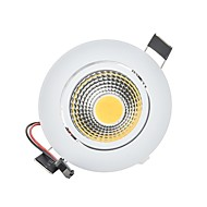 cheap LED Lights-3W 250 lm 2G11 LED Downlights Recessed Retrofit 1 leds COB Dimmable Decorative Warm White Cold White AC 110-130V AC 220-240V
