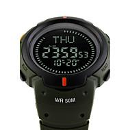 SKMEI Homens Relógio Esportivo Relógio Militar Relógio de Moda Relógio de Pulso Relogio digital Japanês Digital LED Compass Calendário