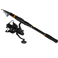 Štapovi za ribolov + Mulinete de Pescuit Surf Rod Štap za pecanje Šaran Rod lijevanje šipke Telespin Rod Spinning rod Spinning rod