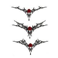 Tatoeagestickers Totem Series Non Toxic WaterproofDames Heren Tiener Tijdelijke tatoeage Tijdelijke tatoeages