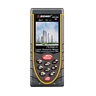 Sndway sw-q80 ruční digitální 80m 635nm laserové měření vzdálenosti (1,5v baterie aaa)