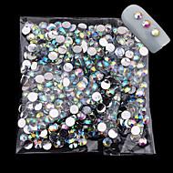 1000 pcs Rhinsten Negle kunst Manicure Pedicure Daglig glitter / Mode / Akryl
