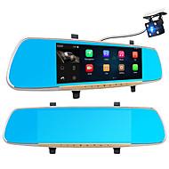 A33 Full HD 1920 x 1080 170 Graus DVR de carro Allwinner 7 Polegadas Dash Cam GPS Visão Nocturna G-Sensor Deteção de Movimento Gravação