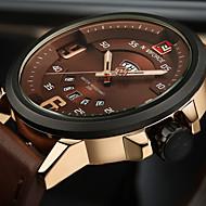 Heren Sporthorloge Militair horloge Modieus horloge Polshorloge Unieke creatieve horloge Vrijetijdshorloge Japans Kwarts Kalender