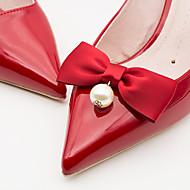 お買い得  靴用品-2本 ファブリック デコレーションアクセント 女性用 夏 結婚式 カジュアル バケーション オレンジ イエローホワイト ライトグレー レッド グリーン