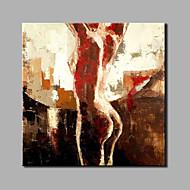 handgeschilderde vrouwen modern een paneel canvas olieverfschilderij voor huisdecoratie