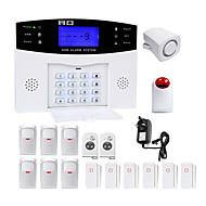 billiga Sensorer och larm-Danmini Home Alarm Systems GSM Plattform GSM SMS Telefon panel Keyboard Fjärrkontroll 433Hz