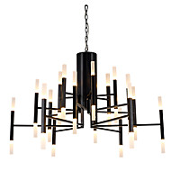 cheap Chandeliers-Modern/Contemporary LED Designers Chandelier Ambient Light For Living Room Bedroom Study Room/Office Warm White 110-120V 220-240V 7000lm