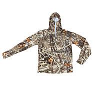 Jagt T-shirt m. camouflagemønster Herre / Dame / Unisex Åndbart camouflage Toppe Langærmet for Jagt