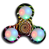 ハンドスピナー ADD、ADHD、不安、自閉症を和らげる オフィスデスクのおもちゃ フォーカス玩具 ストレスや不安の救済 キリングタイム LEDライト LEDスピナー プラスチック クラシック 小品 男の子 子供用 成人 ギフト