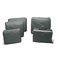 5 Sätze Reisekosmetiktasche Reisekoffersystem Wasserdicht Tragbar Hygieneartikel Kulturtasche für Kleider für Reise