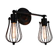 AC 220-240 8 E26/E27 Rustikk/ Hytte Maleri Trekk for LED Pære inkludert,Atmosfærelys LED Vegglampe Vegglampe