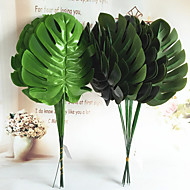 10 Branch  Simulation  Monstera Flower Arrangement With Material Artificial Flowers