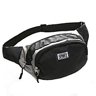 billige Rygsække og tasker-10 L Bæltetasker - Vandtæt, Påførelig, Åndbart Udendørs Løb Oxford Sort, Gul, Army Grøn