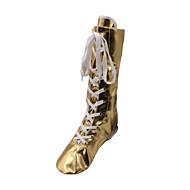 billige Jazz-sko-Dame Jazz Lakklær Støvler Ytelse Flat hæl Gull Sølv Kan ikke spesialtilpasses