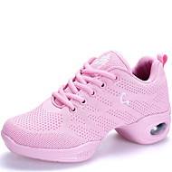 "cheap Modern Shoes-Women's Modern Fabric Sneaker Outdoor Low Heel White Black Pink 1"" - 1 3/4"" Non Customizable"