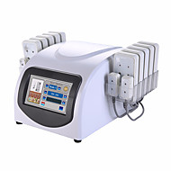 Portable 14 Pads Lipo Laser Fat Loss Device With 88 Diodes Laser For Body Slimming