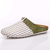 샌들-야외 캐쥬얼-남성-컴포트 조명 신발-튤-플랫-