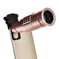 18x univerzális alumínium optikai zoom mini állvány okostelefon fém távcső hosszú fókusz -Rózsaszín