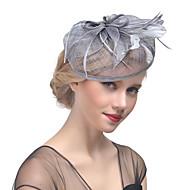 Dame Hat Helfarve Mesh Elegant Multi-bæremåder beklædning Hårclips - Stof