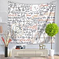 preiswerte -Wand-Dekor 100% Polyester Mit Mustern Kreativ Aktiv Wandkunst,1